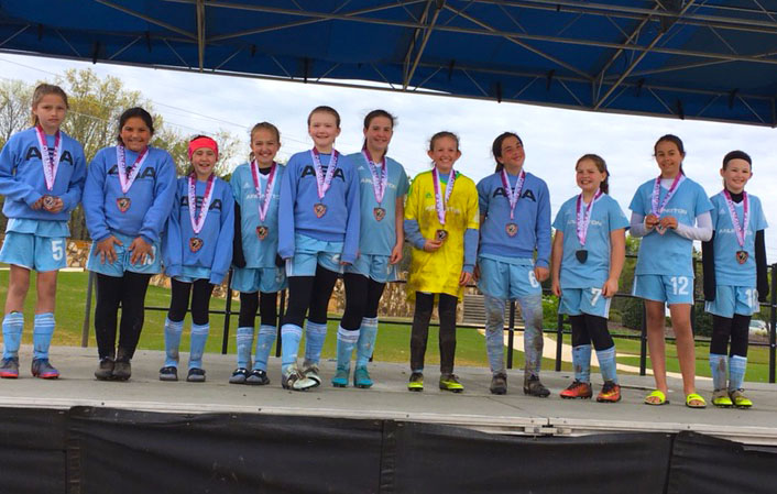 Congratulations ASA 2007 Girls